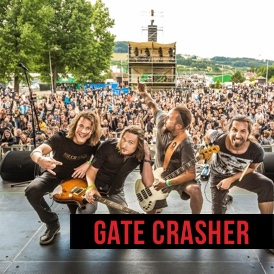 gate-crasher