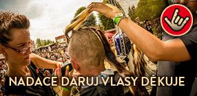 Nadace Daruj vlasy děkuje
